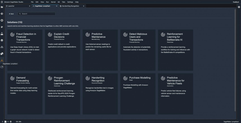 Amazon SageMaker JumpStart Product Screenshot 1 DataEthics4All AI Society