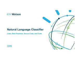IBM Watson Natural Language Classifier Featured Image DataEthics4All AI Society