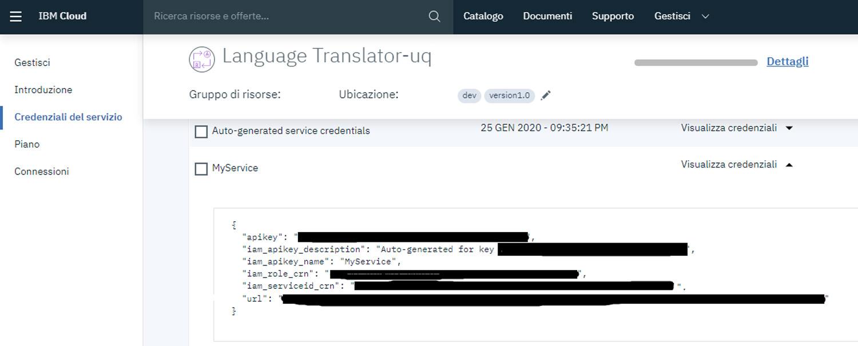 IBM Watson Language Translator Product Screenshot 4 DataEthics4All AI Society