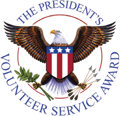 The Presiden't Volunteer Service Award Logo