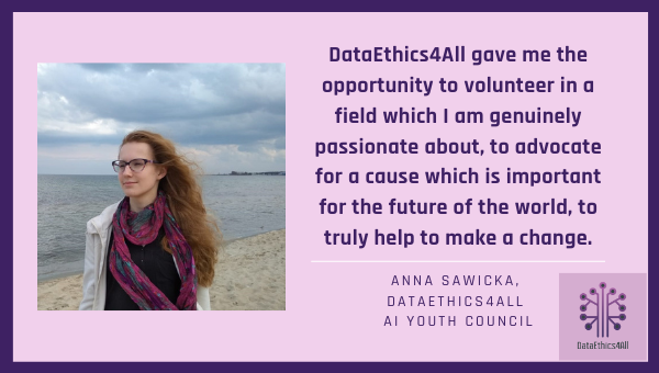 Anna Sawicka DataEthics4All Youth Leader Testimonial