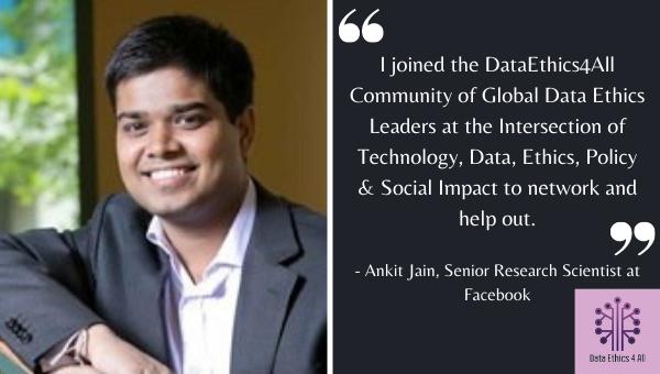 Ankit Jain DataEthics4All Think Tank Testimonial