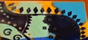 Close-Up of Warli-Clay-Art