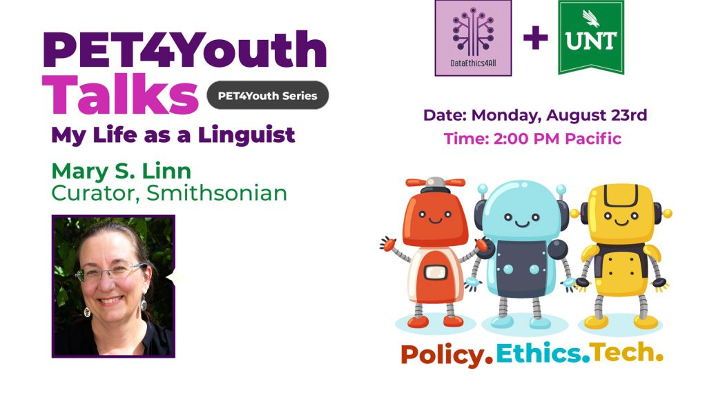 DataEthics4All-PET4Youth-Partner-Talk-UNT